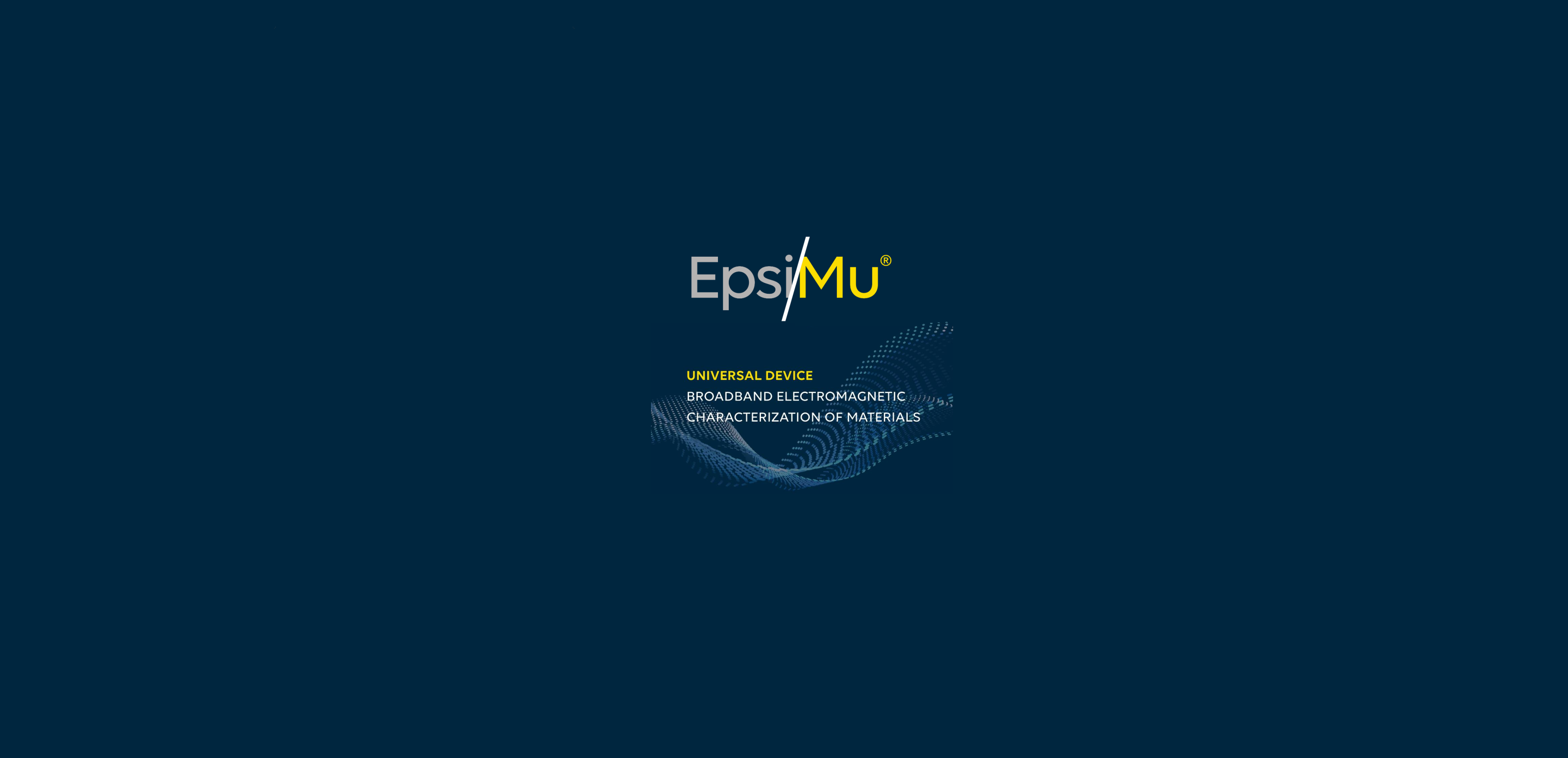Permittivity Measurement System EpsiMu